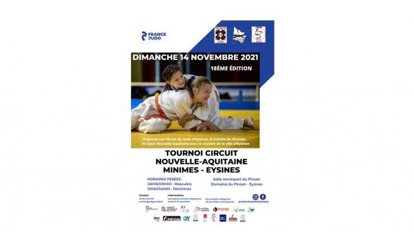 Plaquette Tournoi Circuit Nouvelle Aquitaine Eysines